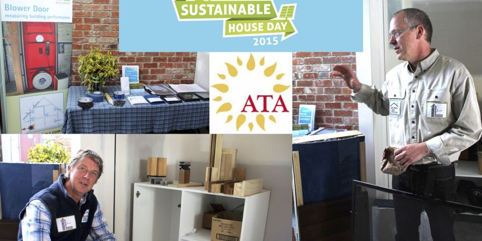 Passive Warehouse Sustainable House Day 2015